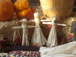 corn husk dolls for our thanksgiving field trip next month