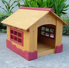 cool dog houses amazon com merry pet ice cream house small wood pet house dog