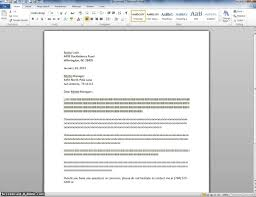 Full Block Style Complaint Letter by Full Block Example Youtube