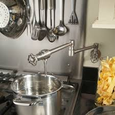 wall mount pot filler kitchen faucet creative of pot filler kitchen faucet in home decorating ideas with
