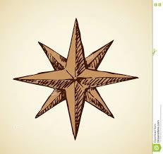 compass icon vector sketch stock vector image 79780273