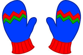 winter hats and gloves clipart 45