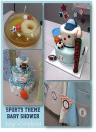sports theme baby shower lizzi s creations sports theme baby shower