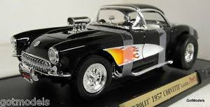 1957 corvette gasser road signature 1 18 scale 92019 1957 chevrolet corvette gasser