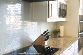 textured tile backsplash trash cabinet pull out what is the best