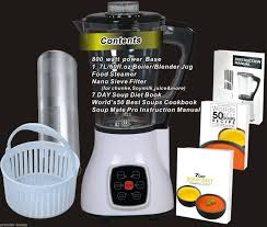 soup maker deluxe u0026 cold blender steamer weight loss diet
