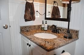 Black Faucets For Bathroom Kitchen Wonderful Bathroom Vanity With Grey Cambria Countertops