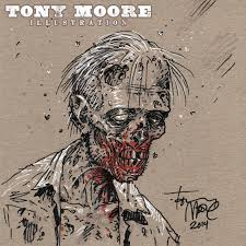 sketch of the day a zombie u2014 colonel tony moore
