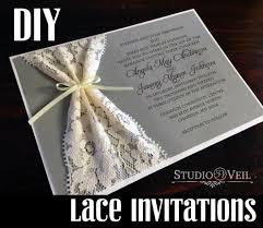 diy lace invitations studio veil minneapolis wedding