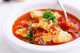 Mediterranean Style Food - mediterranean style seafood soup