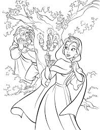 41 beauty beast coloring pages images