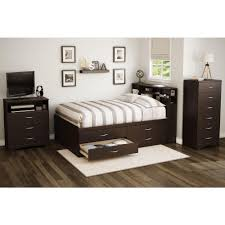 Full Storage Beds South Shore Step One Full Wood Storage Bed 3159209 The Home Depot