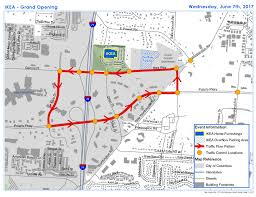 Map Of Columbus Ikea Opening Will Impact Traffic News City Of Westerville Oh