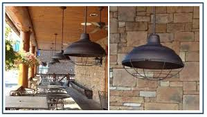 Barn Lights Pendant Warehouse Pendants Boost Rustic Ambiance At Nc Restaurant