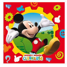 Mickey Mouse Flag Mickey Mouse Clubhouse Luncheon Napkins Disney From All You Need