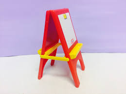 Little Tikes Barbie Dollhouse Furniture by Vintage Little Tikes Miniature Easel Doll House Furniture