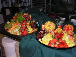 fruit displays christmas fruit displays catering by georgianna