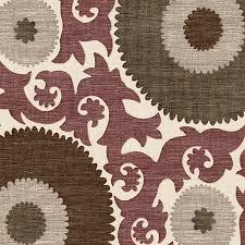 Suzani Fabric Chair Purple And Gray Giant Suzani Fabric Eclectic Drapery Fabric