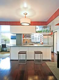 Dark Floors Light Cabinets Dark Floor Light Cabinet Kitchen Contemporary With Wood Paneling