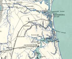 Florida Interstate Map by Florida U0027s Underground Railroad Part One The Florida Memory Blog