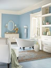 blue and beige bathroom 5 fresh bathroom colors to try in 2017 hgtv s decorating