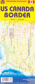 map of ne usa and canada usa canada border map itm mapscompany