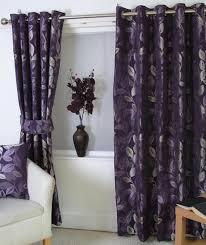 Plum Velvet Curtains The Glamorous Plum Curtains For Decor Home Design Ideas