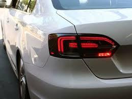 2011 vw cc led tail lights hybrid style smoked led tail lights for vw mk6 jetta sedan