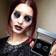 makeup artist scary makeover saida mickeviciute lithuania 1