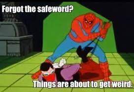 1960s Spiderman Meme - the 1960s vintage spiderman meme