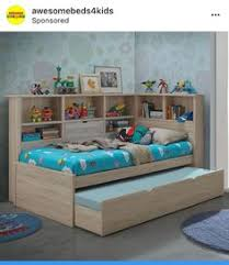 white full size bookcase captain u0027s day bed with trundle 0223 day