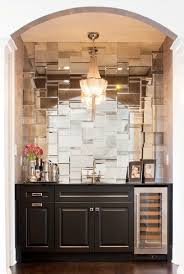 Subway Tiles In Bathroom Best 25 Mirrored Subway Tiles Ideas On Pinterest Powder Rooms