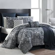 Complete Bedroom Sets Essential Home 16 Piece Complete Bed Set Medallion Home Bed