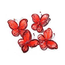 2 75 glitter butterflies
