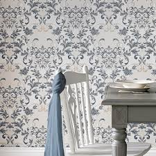 sapphire blue wallpaper abigail sapphire blue wallpaper designer blue wall coverings by