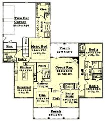 2800 Square Foot House Plans Southern Style House Plans Plan 50 138