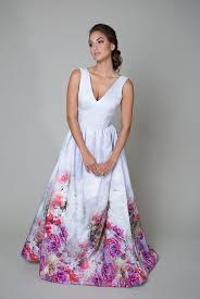 coloured wedding dresses uk 10 colourful wedding dresses