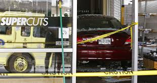 car crashes into supercuts in southeast springfield