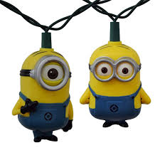 minion party despicable me minion party string lights