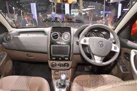 opel diplomat interior 2016 renault duster facelift auto expo 2016 live