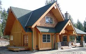 small post and beam homes gibsons hybrid the log builders
