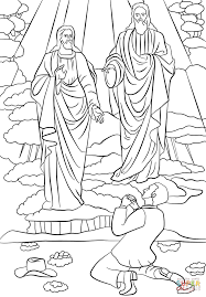 joseph smith first vision coloring page free printable coloring