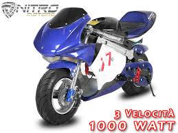 pedane minimoto minimoto eco pocket bike 1 000w per bambini al miglior prezzo