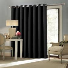 patio doors sliding door curtains french ideas blackout for awful