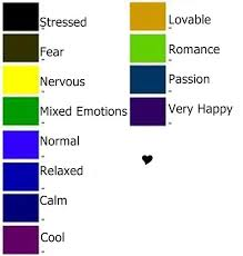 mood colors meanings mood color chart finest mood color chart with mood color chart top