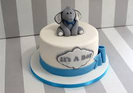 baby boy cakes elephant baby shower cake bakealous