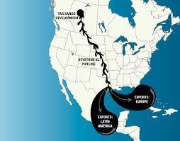 Keystone Map Keystone Pipeline Musings On Maps