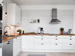 grout kitchen backsplash a white tiles black grout of kitchen coco lapine design