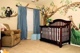 How To Decorate A Nursery For A Boy Nursery Themes For Boys Crib And Changing Table Combo In