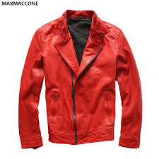 red motorcycle jacket online get cheap mens diagonal zipper jacket aliexpress com
